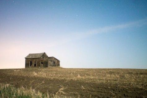 An old farmhouse